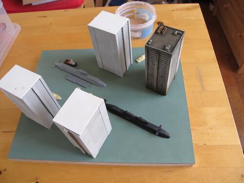 Quatre immeubles !