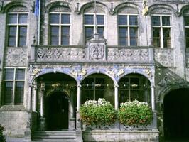 bretèche de l'Hôtel de Ville de Furnes