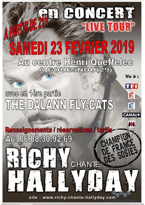concert voir affiche 23-02-2019 au gouesnou