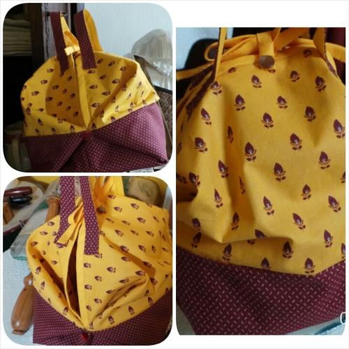 Atelier bidouillage du mardi 12 mai 2015 : un petit sac pochon