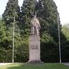 La statue du Maréchal Foch à la clairière de Rethondes