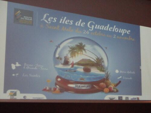 La Guadeloupe monte au top