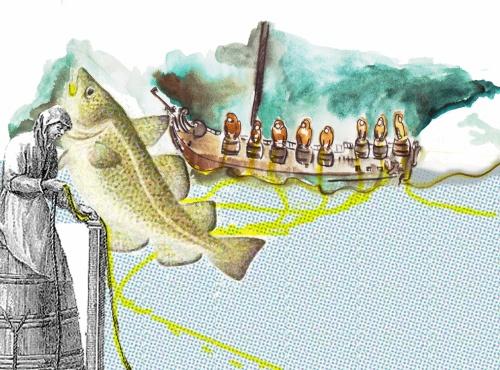 Fecamp, une histoire de la pêche, Atamaniuk+Canté Tonneau