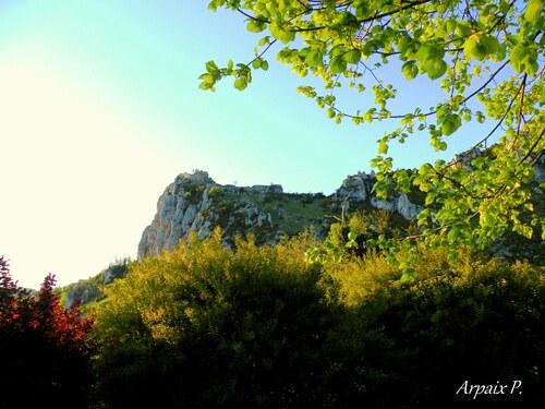 Château de Roquefixade    Ariège  Partie 1