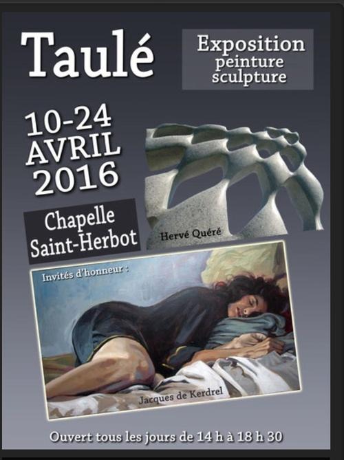 Exposition à St Herbot à Taulé