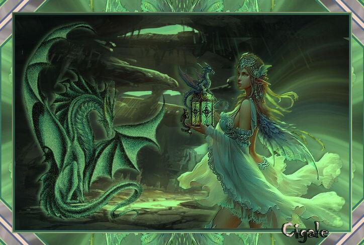 La caverne du dragon.