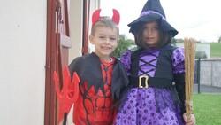 Notre premier Halloween !