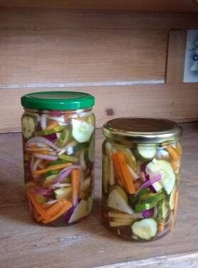 Pickels trois, deux, un