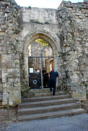 Les ruines de l'église de la Trinité