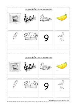 étude des sons exercices CE1