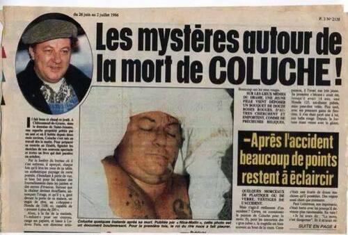 La vérité sur la mort de Coluche