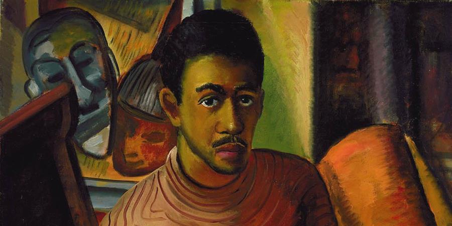 Crédit d'image: Autoportrait (détail), Malvin Gray Johnson, 1934, Smithsonian American Museum, Washington, DC, États-Unis.