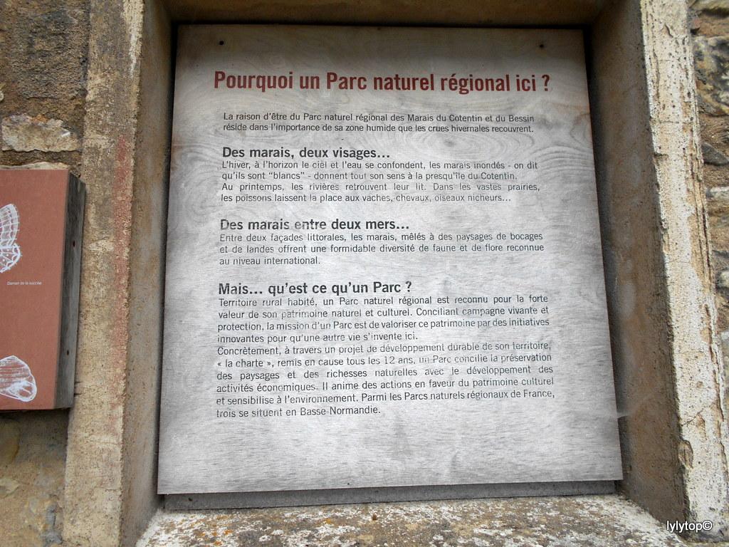 """La maison du parc """"Parc naturel régional des Marais du Cotentin et du Bessin """" (6 et fin)"""