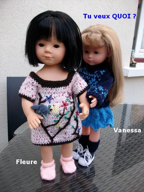 Vanessa en automne !