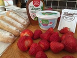 Charlotte au fraises toute legère