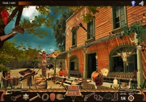 Gun town - Hidden objects