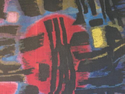 Exposition de tapisseries Plasse Le Caisne d'après des lithos de Manessier