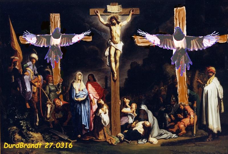 Le christ et les larrons/ Cristo y los ladrones