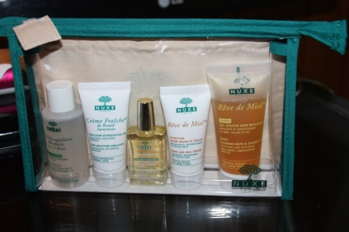 Nat : Mon Travel Kit de Nuxe