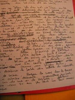 Manuscrit ...
