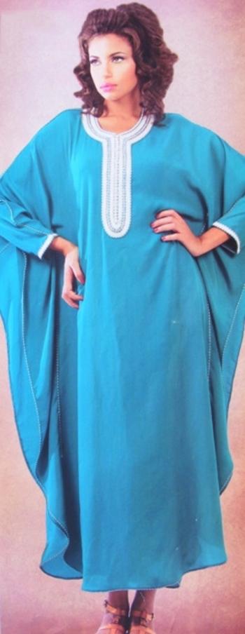 Gandoura marocaine en ligne de la collection 2015