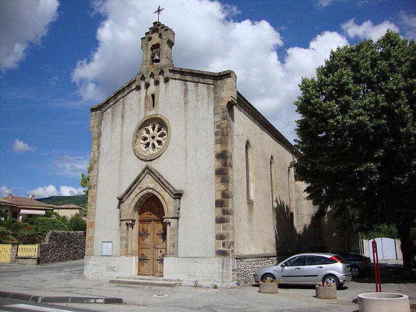 JE PARS A St JULIEN EN St ALBAN