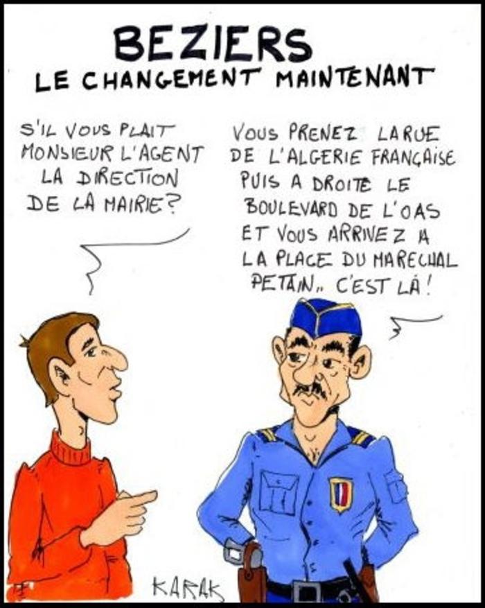 """Ménard, la guerre d'Algérie et l'""""apologie du terrorisme"""""""