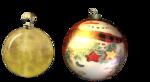 PNG képek: Gömbök, díszek