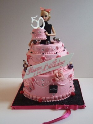 Barbie gâteau Dalloyau