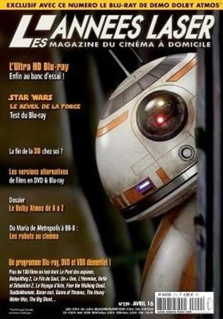 "Les Années Laser N° 229 Avril 2016 ""Magazine"""