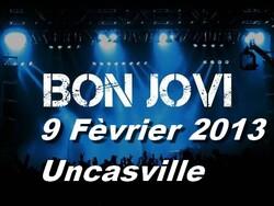 Bonjovi concert privé Uncasville - 09/02/2013 Webcast