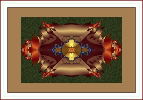 Solution de la fractale N 402 Création Joel Georges