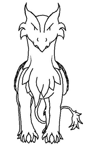 Nhyr, le dragon-griffon !