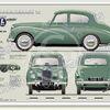 Sunbeam Talbot 90 MkIIA 1952-54 classic car portrait print