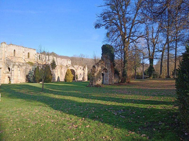 Abbaye des Vaux de Cernay.