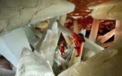 Les grottes de Naïca - Mexique