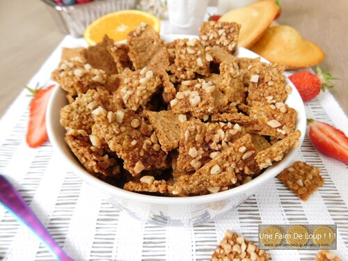 Céréales petit-déjeuner : Orange & Amande
