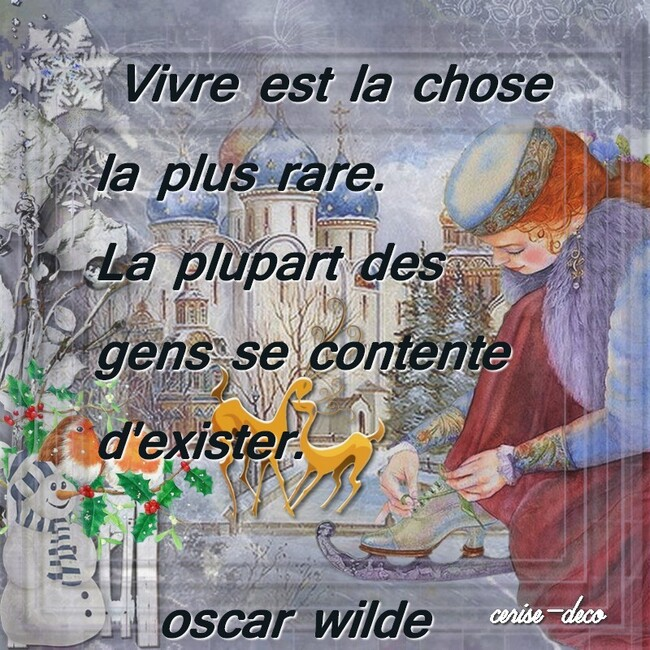 citation illustrée d'oscar wilde