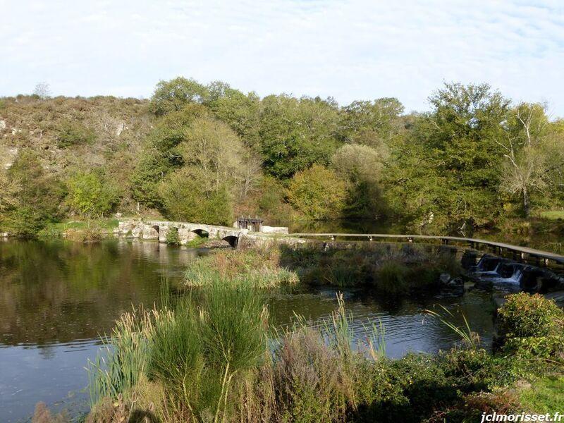 Le Moulin de la Roche à Saint Aubin