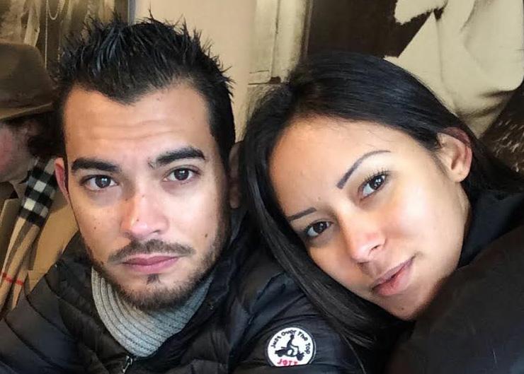 Christophe Arthur et Angélique Léger, deux Réunionnais qui vivent à Nice depuis deux ans