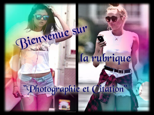 Photographie et Citation
