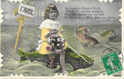 Poisson d'avril .