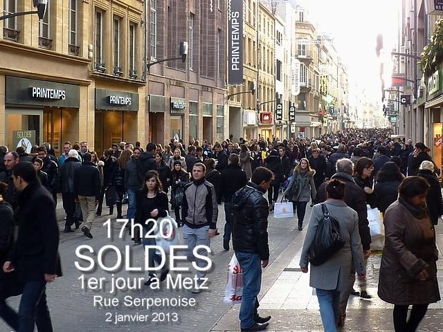 Soldes janvier 2013 Metz 1 Marc de Metz 04 01 2013