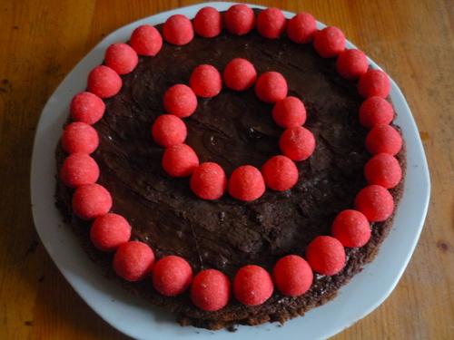 Gâteau d'anniversaire de Cloé