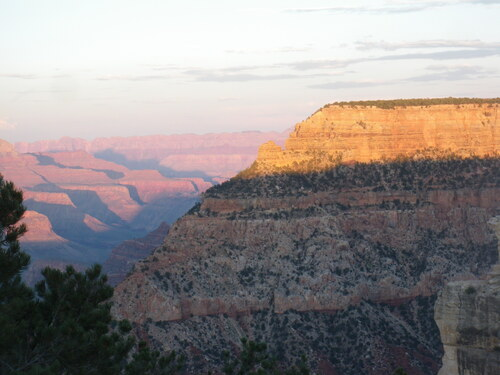 J+4 le grand canyon et le canyon de Chelly