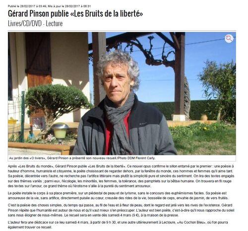 NOUVEAU RECUEIL DE G. PINSON