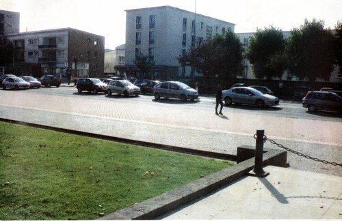 Le Grand Hôtel et l'entrée du parc Richelieu