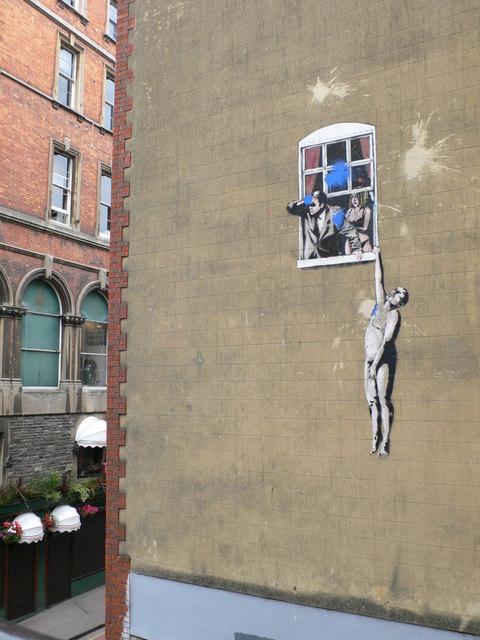 """Résultat de recherche d'images pour """"naked man banksy"""""""