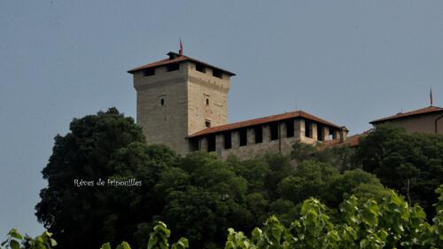 Notre séjour en Italie - 3/4 - Suite du tour du Lac Majeur avec le Rocca Borromeo à Angera