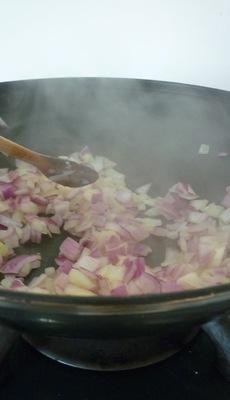 Curry de lentilles vertes aux pommes